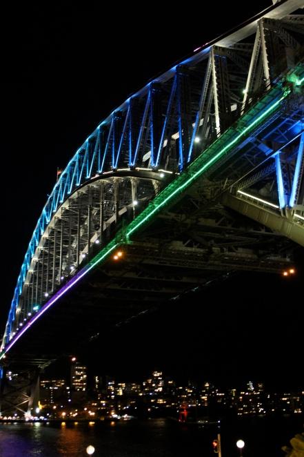 Sydney Harbour Bridge - All Lit Up